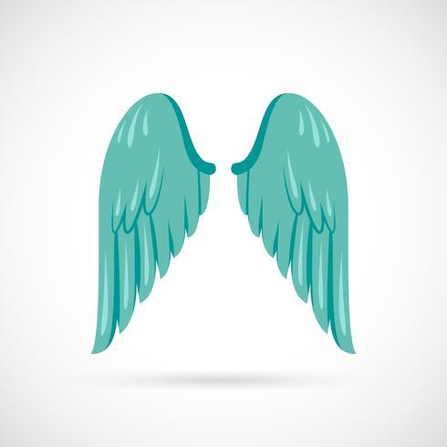 icona dell'ala piatta