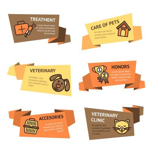 Veterinär-Banner-Set