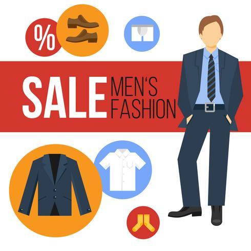 Venta de ropa de moda masculina