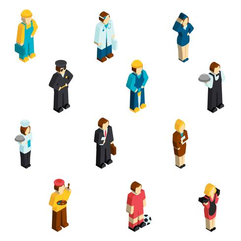 Avatar Profession Isometric