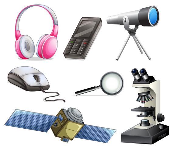 Un set di attrezzature tecnologiche