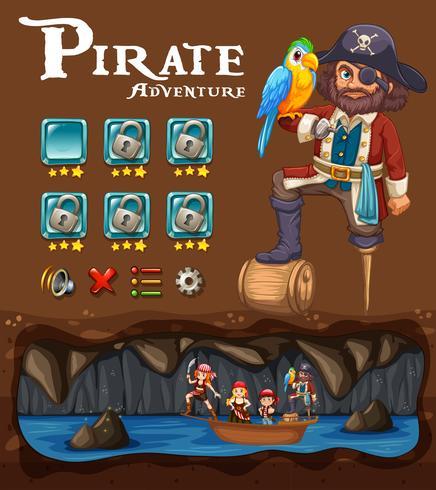 En Pirate Adventure Game Template