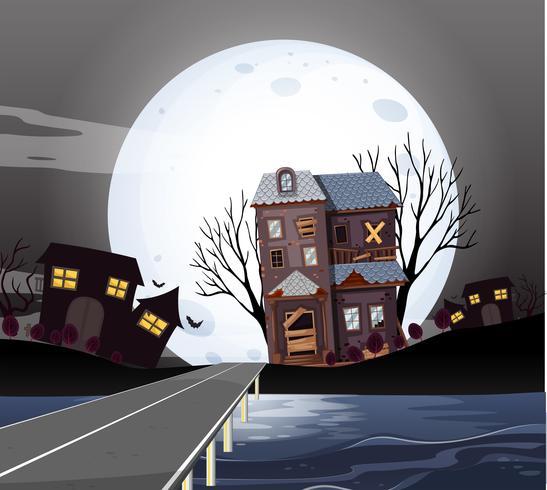 Case infestate nella notte di luna piena