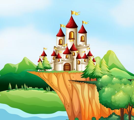 Slottstorn på klippan