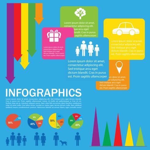 Een kleurrijk infokaartje