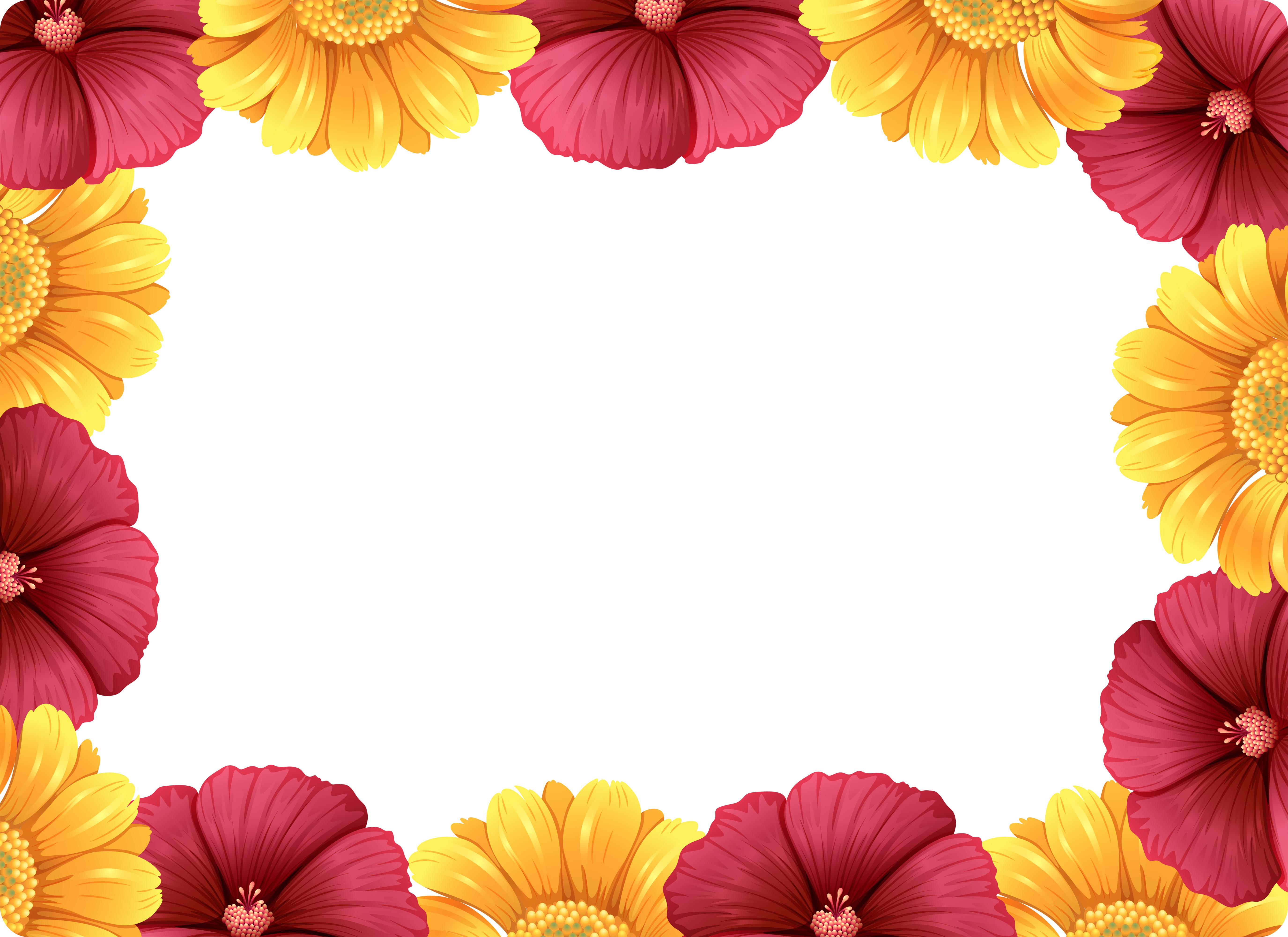 花朵邊框 免費下載 | 天天瘋後製