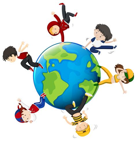 Persone che ballano in tutto il mondo