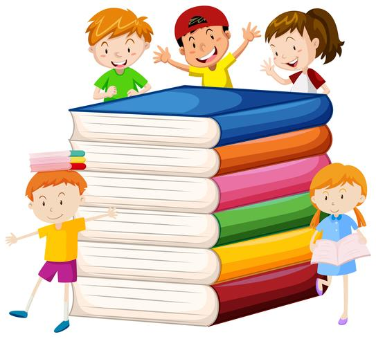 Big books and happy children