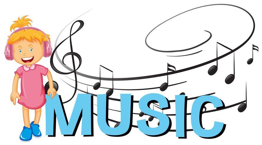 Lettertypeontwerp met woordmuziek