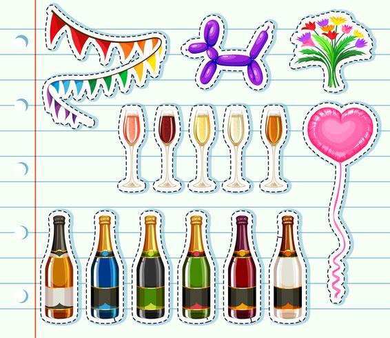Verschillende soorten drankjes op feestje