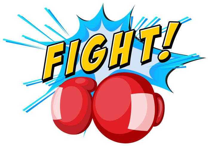 Font design med boxhandskar