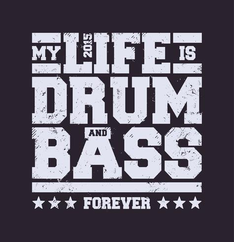 Drum & Bass-typografie