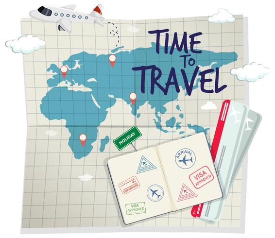 A time to travel template