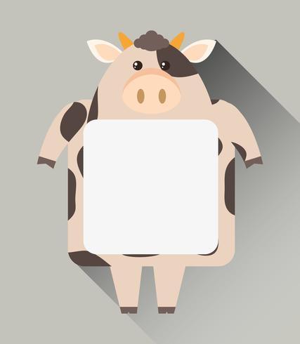 Ram mall med söt ko