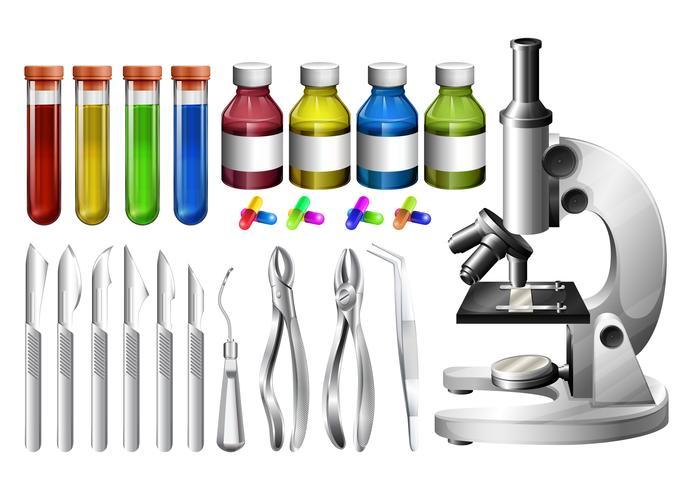 Medicinsk utrustning och behållare