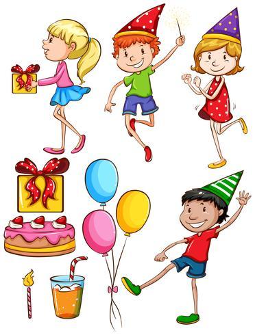 Une fête d'anniversaire
