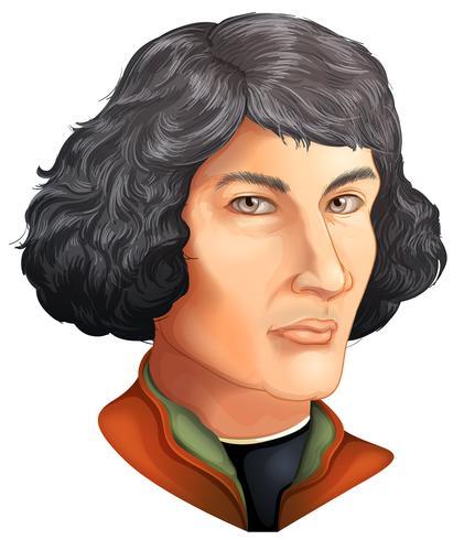 Niccolò Copernico vettore