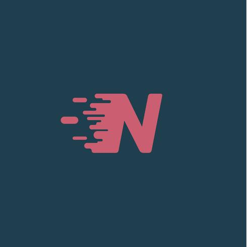 'Rush' karakter van een gezet, vectorillustratie