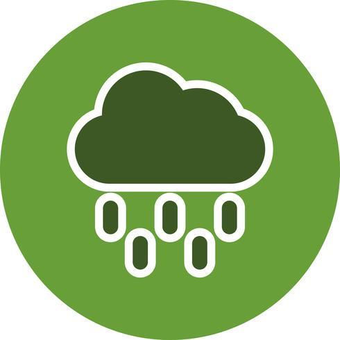 Rain Vector Icon