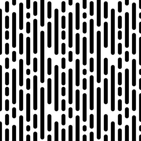 Sömlöst mönster med vertikala svarta linjer vektor