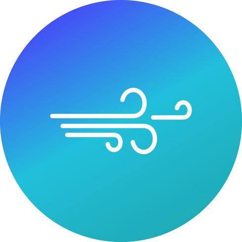 Vind vektor ikon