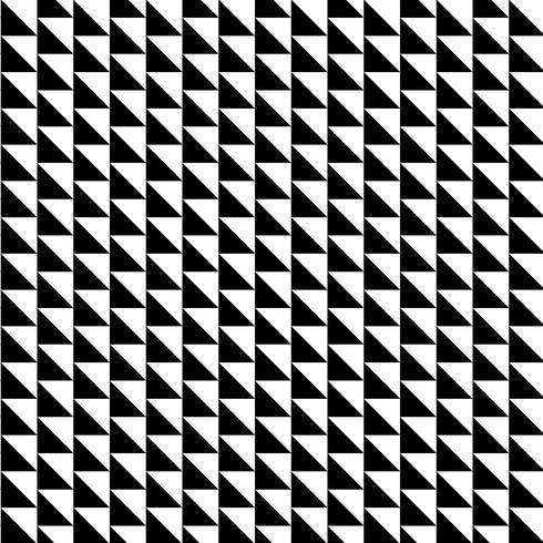 Modello senza cuciture con forme di triangolo