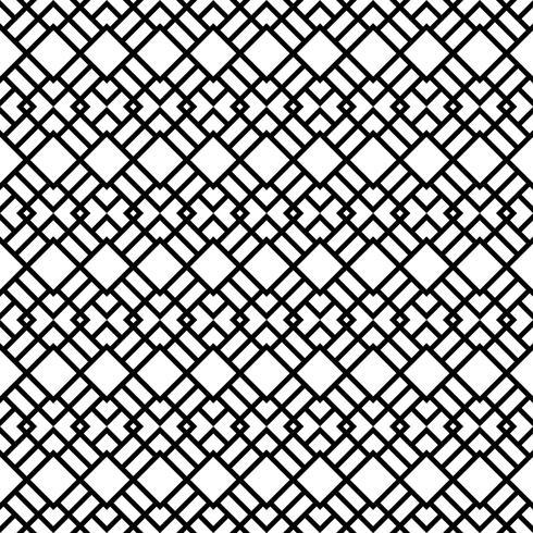 Seamless Pattern med Rhombus Former vektor