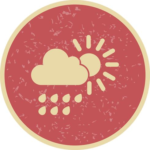 Summer Rain Vector Icon