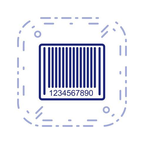 Vector Barcode Icon
