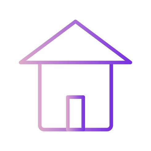 Icona casa vettoriale