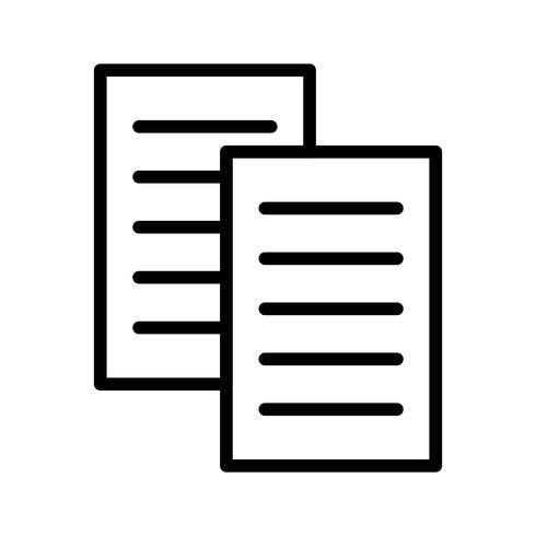 Vector bestanden pictogram