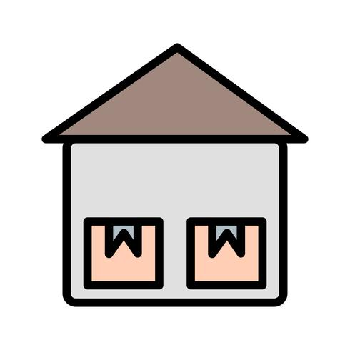 Icono de unidad de almacenamiento de vectores