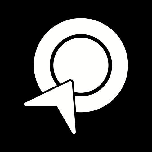 Vector Pay Per Click-ikon