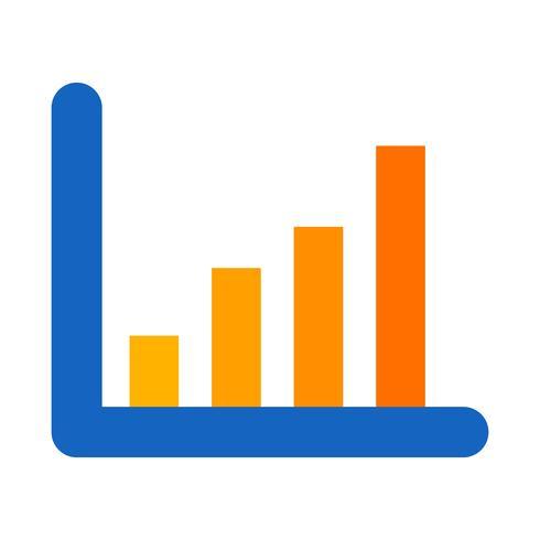Icône de statistiques vectorielles