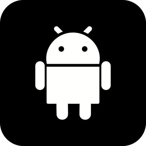Icône de vecteur Android