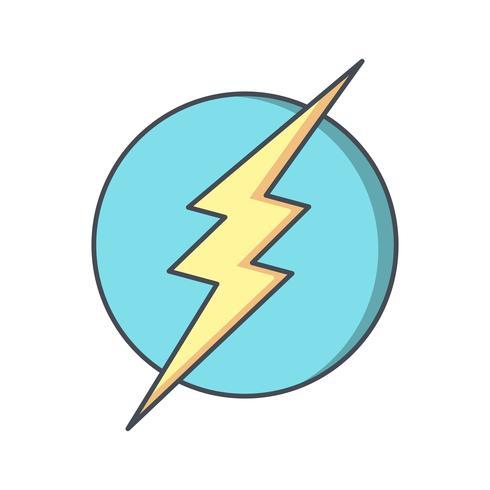 Electric Shock Vector Icon