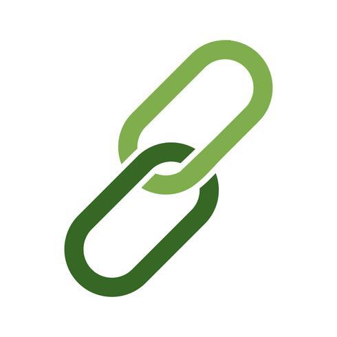 Vektor-Anhang-Symbol