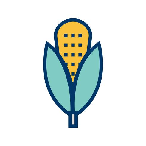 Vector maïs pictogram