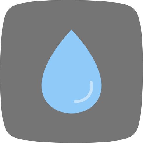 Gota de lluvia Vector icono