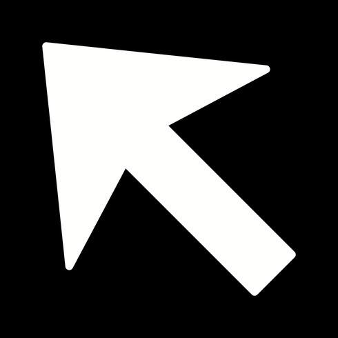 Icono de vector de cursor