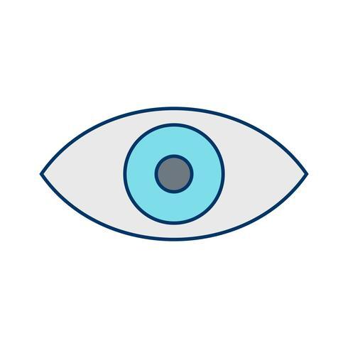 Icono de vista vectorial vector