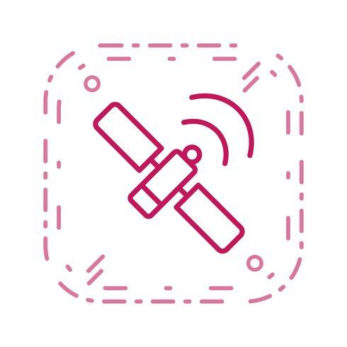 Icono de Vector de la estación espacial