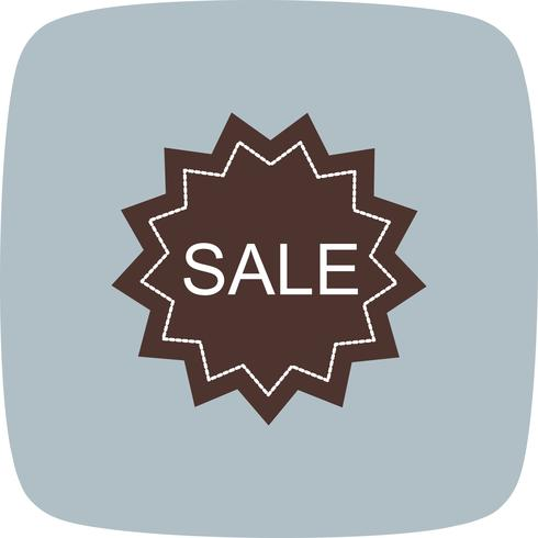 Ícone de venda de vetor