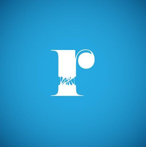 Caractère flexible d'un typographe, illustration vectorielle