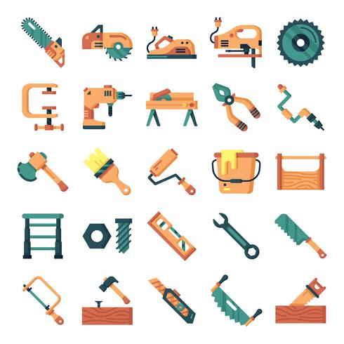 Carpenter icons pack