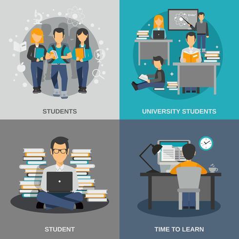 Studentenwohnung eingestellt