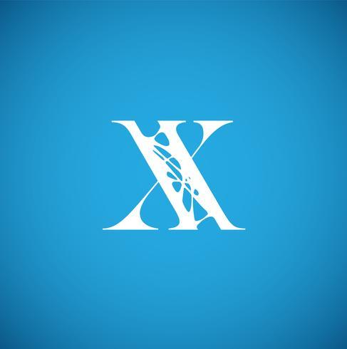 Personagem Flexy de um typeset, ilustração vetorial