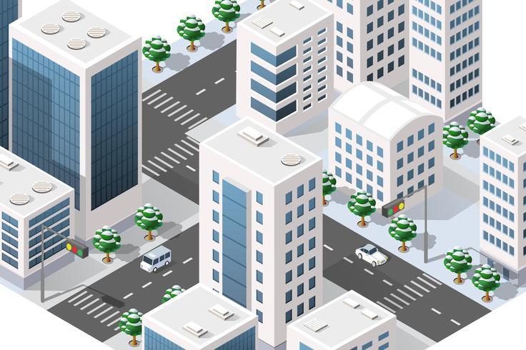 Quartiere urbano della città