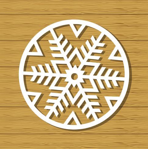Kerst sneeuwvlok ornament