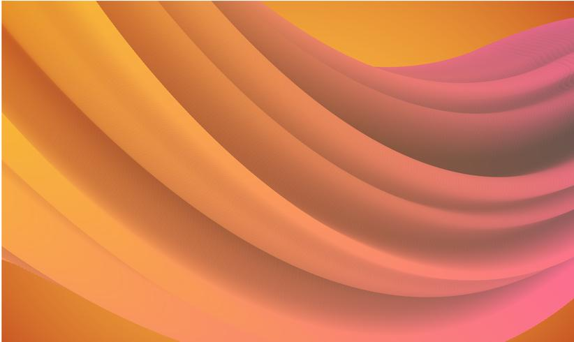 Colorful abstract shape background for advertising, vector illustration